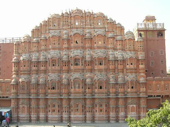 Jaipur Tourist Places - Hawa Mahal