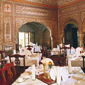 Samode Haveli Lodge Hotel - Dining Area